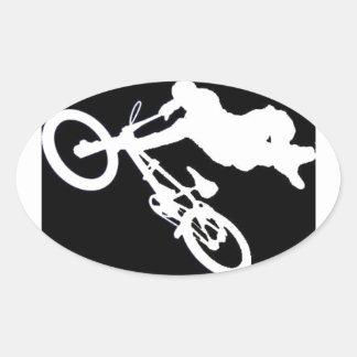 BMX SPORTS OVAL STICKER