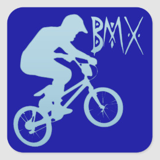 BMX SQUARE STICKER