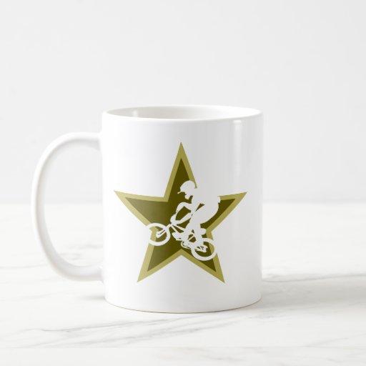 BMX Star Coffee Mugs