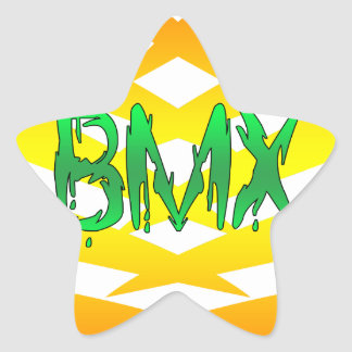 Bmx Star Sticker