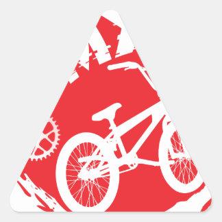 BMX TRIANGLE STICKER