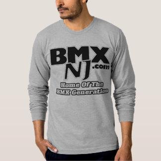 BMXNJ.com Logo Fitted Shirt
