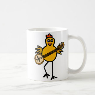 BN- Chicken Playing the Banjo Mug