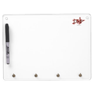 BND white board with hooks Dry-Erase Whiteboards