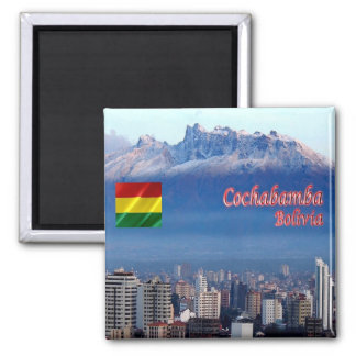 BO - Bolivia - Cochabamba - Cordillera Tunari Magnet