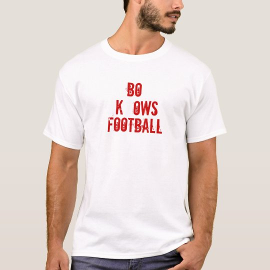 BO KNOWS FOOTBALL T-Shirt
