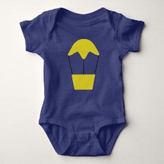 Bo muck with an air balloon reason baby bodysuit
