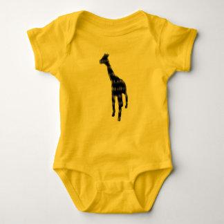 Bo muck with one giraffmotiv baby bodysuit