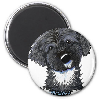 Bo Obama Portuguese Water Dog 2 Inch Round Magnet