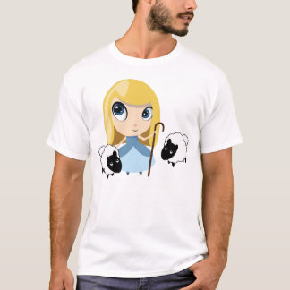 Bo Peep and her Sheep T-Shirt