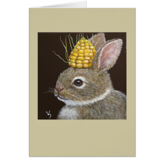 Bo the baby bunny card