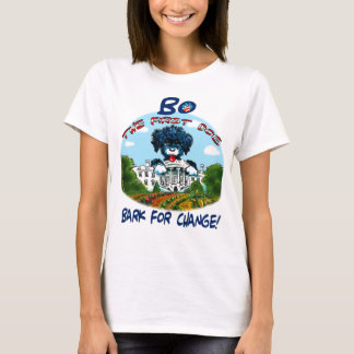 "Bo the First Dog ""Bark for Change"" Women's Tee"