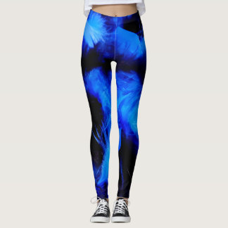 Boa Bombastic Leggings in Blue Crush