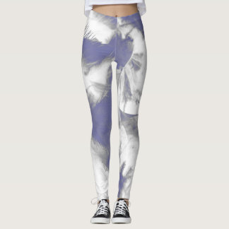 Boa Bombastic Leggings in White Lightening