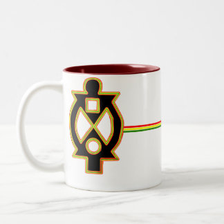 Boa Me Na Me Mmoa Wo Two-Tone Coffee Mug