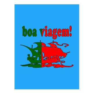 Boa Viagem - Good Trip in Portuguese - Vacations Postcard