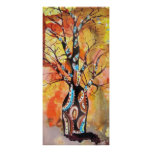 Boab Tree Sunshine Poster