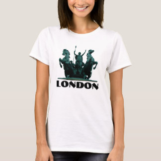Boadicea Statue-Westminster-London Womens T-Shirt