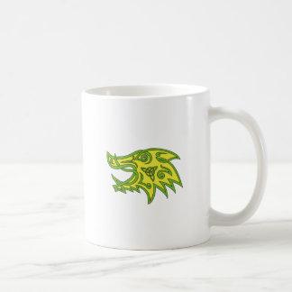 Boar Head Celtic Knot Coffee Mug