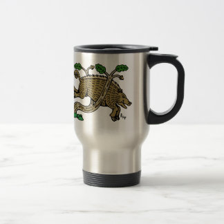 Boar Hunt Travel Mug