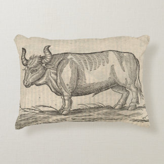 Boar & Ox Accent Pillow
