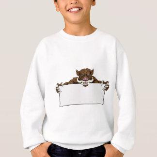 Boar Razorback Sign Sweatshirt