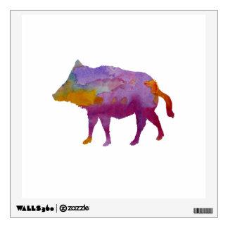 Boar Wall Sticker