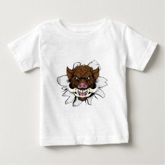 Boar Warthog Sports Mascot Baby T-Shirt