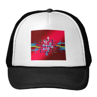 board circuits trace control cente trucker hat