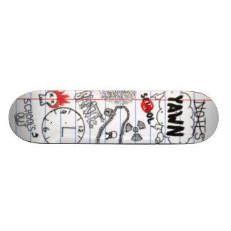 Board in School Skateboard Deck