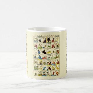 Board of Chinese alphabet Coffee Mug