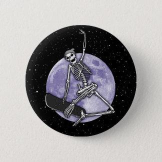 Board Skeleton 2 Inch Round Button