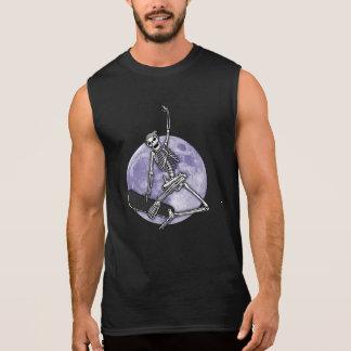 Board Skeleton Sleeveless Shirt