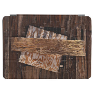 Boarded Up Old Wooden House Window iPad Air Cover