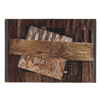 Boarded Up Old Wooden House Window iPad Mini Case
