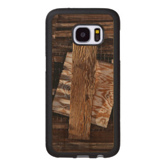 Boarded Up Old Wooden House Window Wood Samsung Galaxy S7 Case