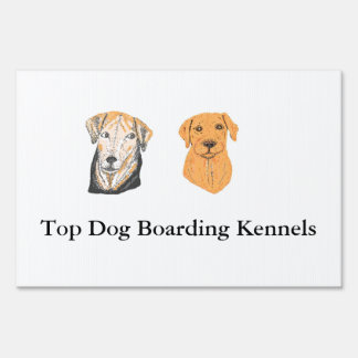 Boarding Kennel Signs