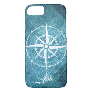 Boardinghouse of telephone with compass iPhone 8/7 case