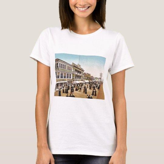 Boardwalk at Atlantic City 1900 T-Shirt