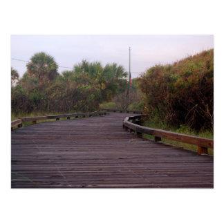 Boardwalk in Myrtle Beach Postcard