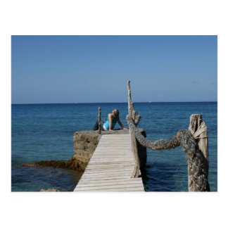 Boardwalk Paradise Postcard