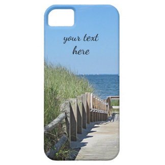 Boardwalk to the beach iPhone 5 cover