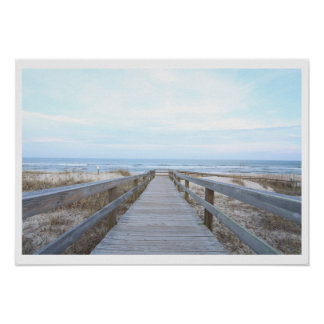 Boardwalk to the Beach Poster