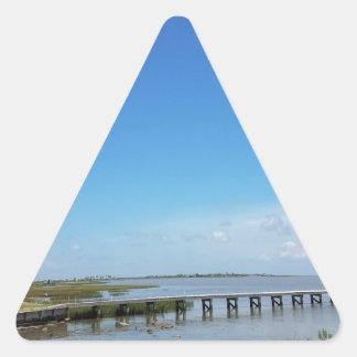 boardwalk triangle sticker