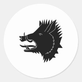 Boars R Us Classic Round Sticker