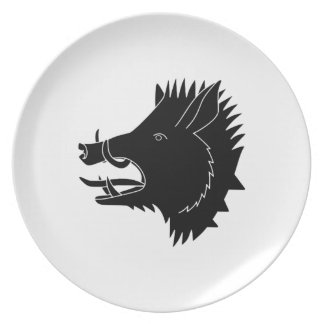 Boars R Us Plate