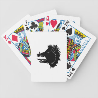 Boars R Us Poker Deck