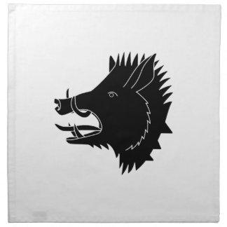 Boars R Us Printed Napkin