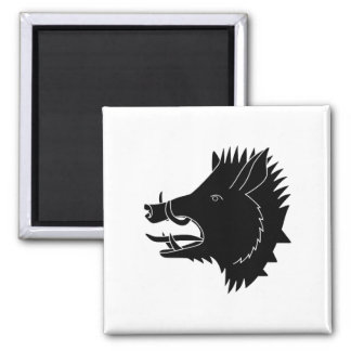 Boars R Us Square Magnet