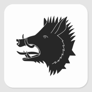 Boars R Us Square Sticker